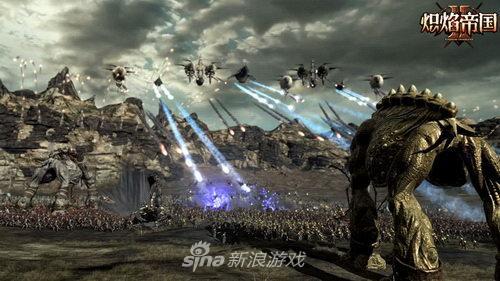 《炽焰帝国2》陆空同战横扫千军