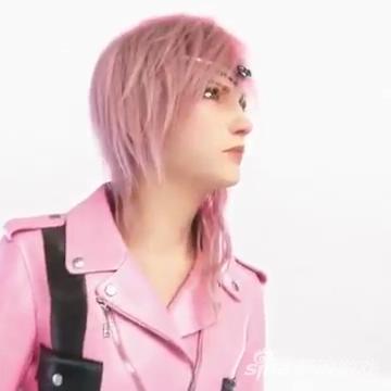 《最终幻想13》女主角Lightning为LV新品代言
