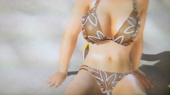《死或生:沙排3》柔软引擎最新演示