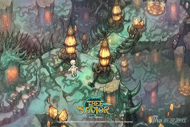 《救世之树》场景原画