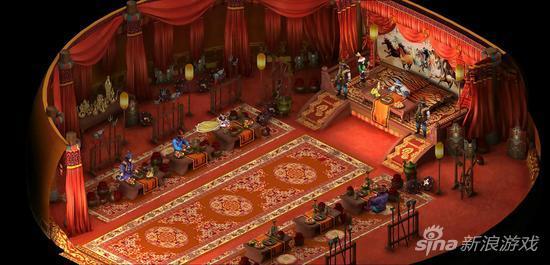 鞑靼主殿,处理日常事务的场所