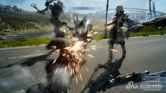 最终幻想15将会有两种不同的战斗模式