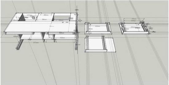 玻璃电脑桌组装步骤图解