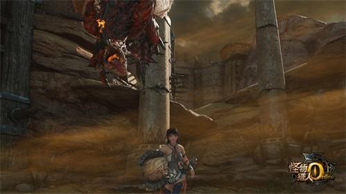 《怪物猎人OL》狩猎雄火龙 抢永久时装