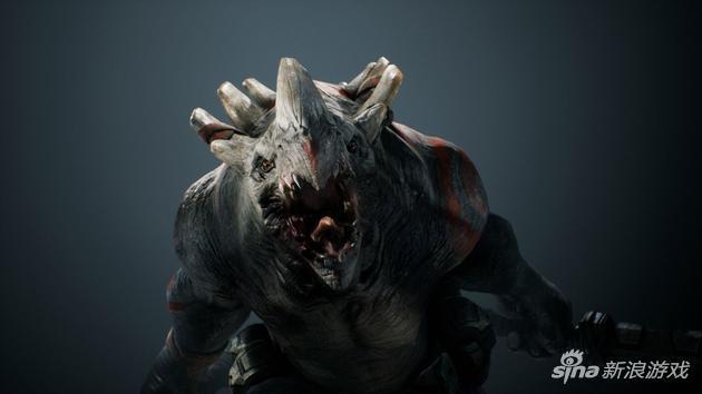MOBA《帕拉贡》怪物