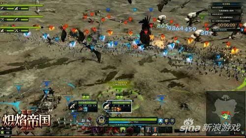 《炽焰帝国2》叛军要塞攻城战截图