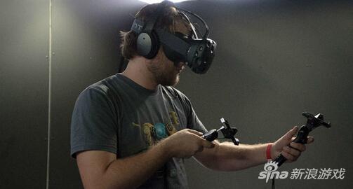 HTC Vive负责人专访 完整空间沉浸式VR体验
