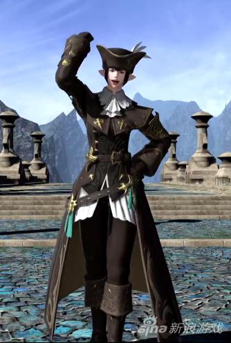 《最终幻想14》新时装展示