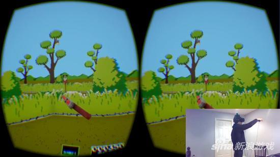 VR版《打鸭子》实机游戏演示 还是熟悉的味道