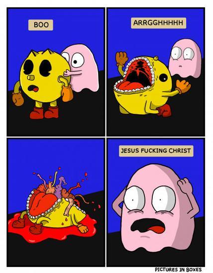 如此写实的《吃豆人》!