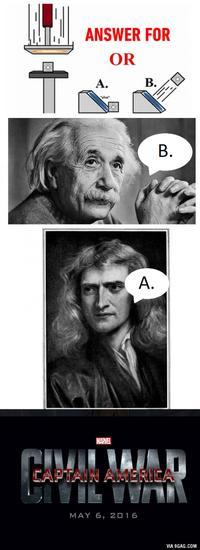 传送门的梗,你看懂了吗?你支持爱因斯坦还是牛顿?