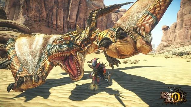 《怪物猎人OL》轰龙在3月1日新版中登场