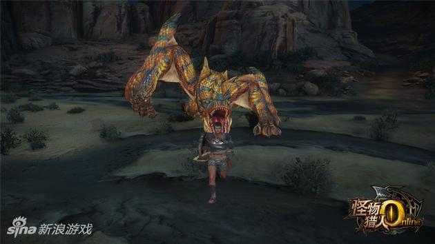 《怪物猎人OL》轰龙攻击招式:强袭龙车