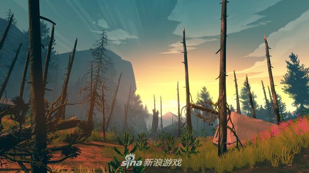 《看火人》游戏截图