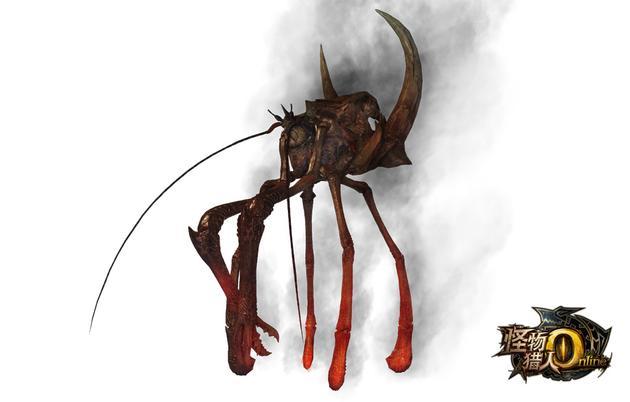 《怪物猎人OL》红莲砦蟹