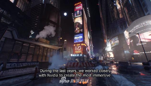 《全境封锁》N卡特效画面