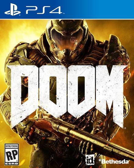 先前《毁灭战士》的游戏封面