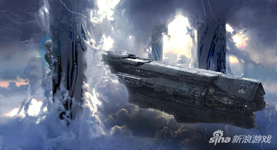 UNSC无限号,人类史上最强大的太空战舰
