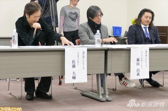 横山昌义已经是老司机了,不止一次负责系列游戏的选角工作