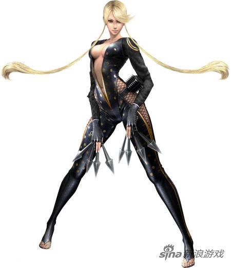 女忍者对外星触手怪