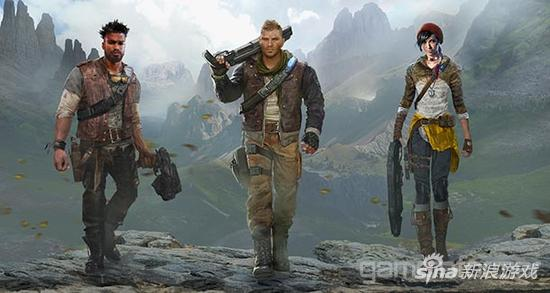 《战争机器4》三名新角色