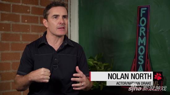 业界著名配音演员Nolan North,德雷克扮演者