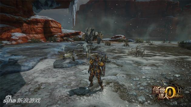 《怪物猎人OL》原创怪剑极狼技能——剑刃飞矢
