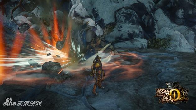 《怪物猎人OL》原创怪剑极狼技能——震波冲击