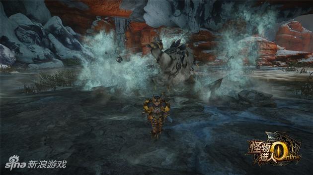 《怪物猎人OL》原创怪剑极狼技能——背部砸击