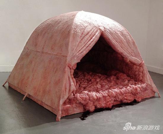 肉感十足的帐篷