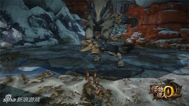 《怪物猎人OL》原创怪剑极狼技能——利爪连袭