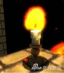 蜡烛人形象