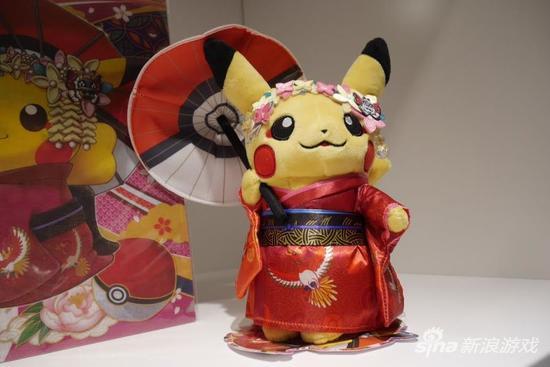 京都口袋妖怪店穿和服的皮卡丘