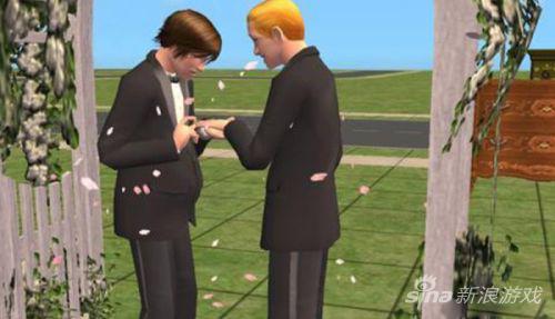 模拟人生中的同性结婚