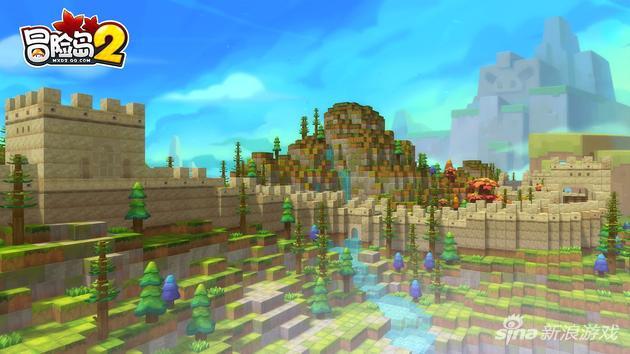 《冒险岛2》游戏截图