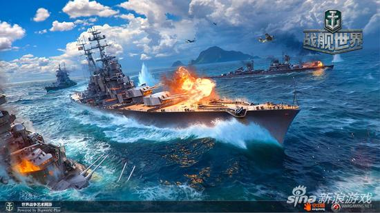 苏系巡洋宣传图