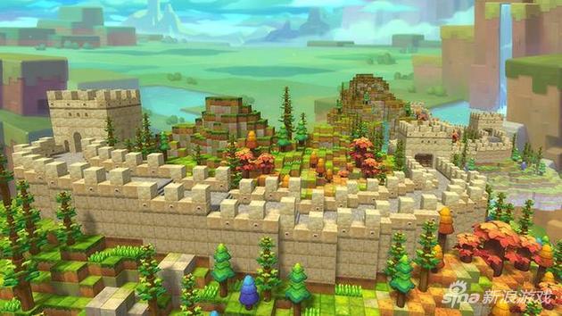 《冒险岛2》方块世界