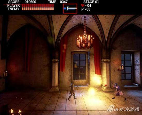 玩家用虚幻4重制《恶魔城》初代