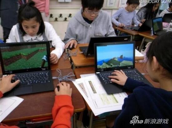 日本首用《我的世界教育版》开课