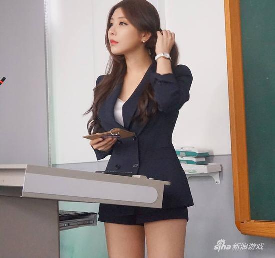 韩国 最美教师 竟是美女主播