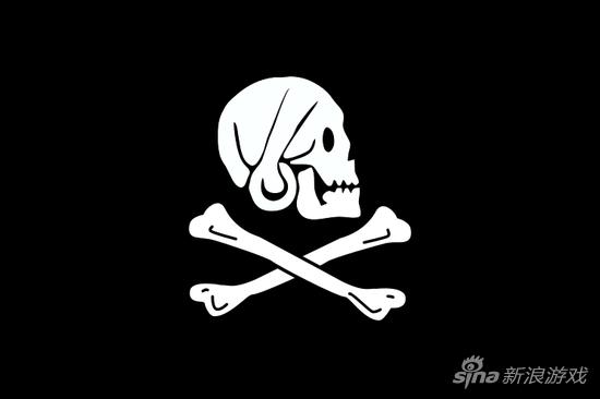 被认为是Every的海盗旗,根据一些描述,旗帜可能还是红色的