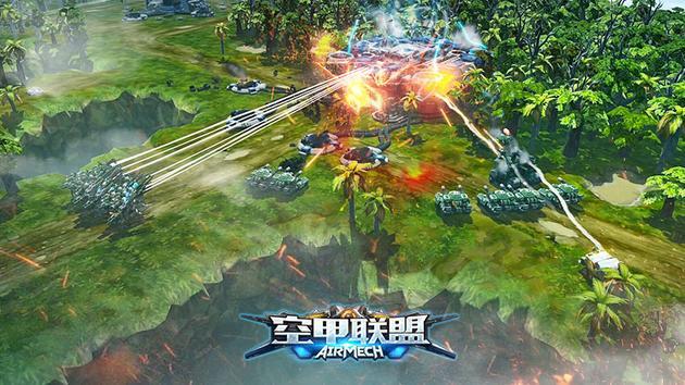 《空甲联盟》游戏截图
