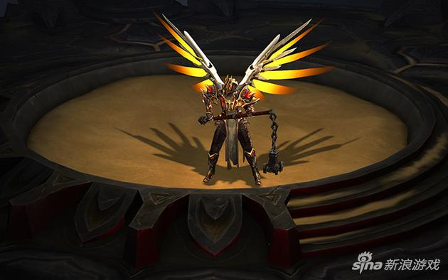 《守望先锋》数字典藏版虚拟赠礼——《暗黑3》守望天使之翼