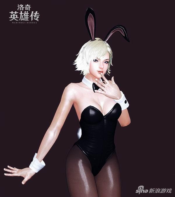 《洛奇英雄传》兔女郎