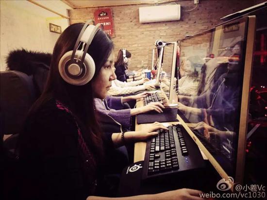 中国第一支女子战队5LOVE出战WESG2016(41108
