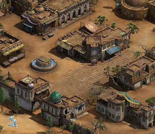 图片3:西域古城