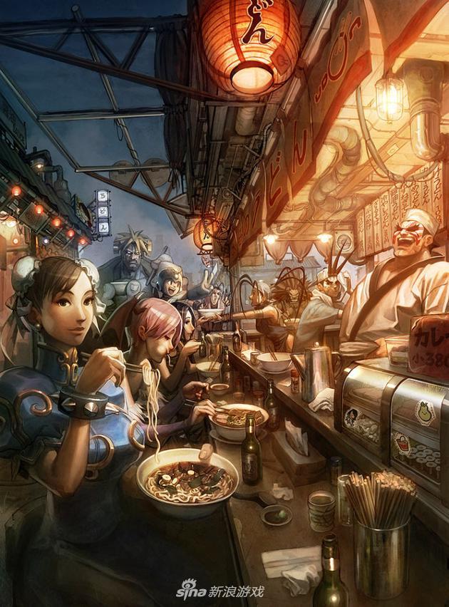《守望先锋》原画师Arnold Tsang作品赏