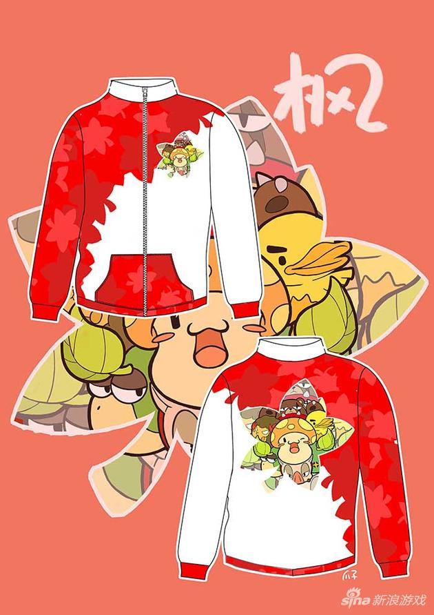 《冒险岛2》周边diy设计大赛玩家设计卫衣作品赏
