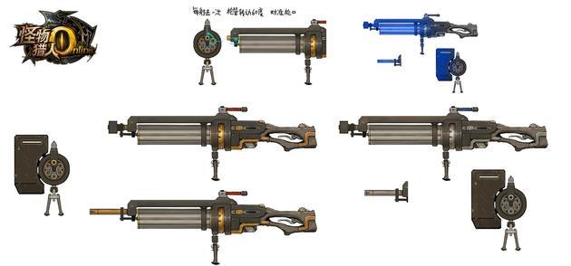 《怪物猎人ol》弩炮:重炮左轮
