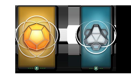 每个金卡包或者银卡包的头两个项目仍然是永久项目解锁,但是更新后就不包含徽章。以此来提高解锁其他永久项目的几率。第三个项目原来只是一次性道具,现在有更高的可能性解锁徽章。